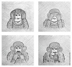 4 maimute intelepte