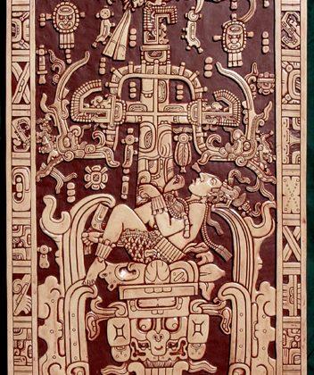 Palenque , călător în timp